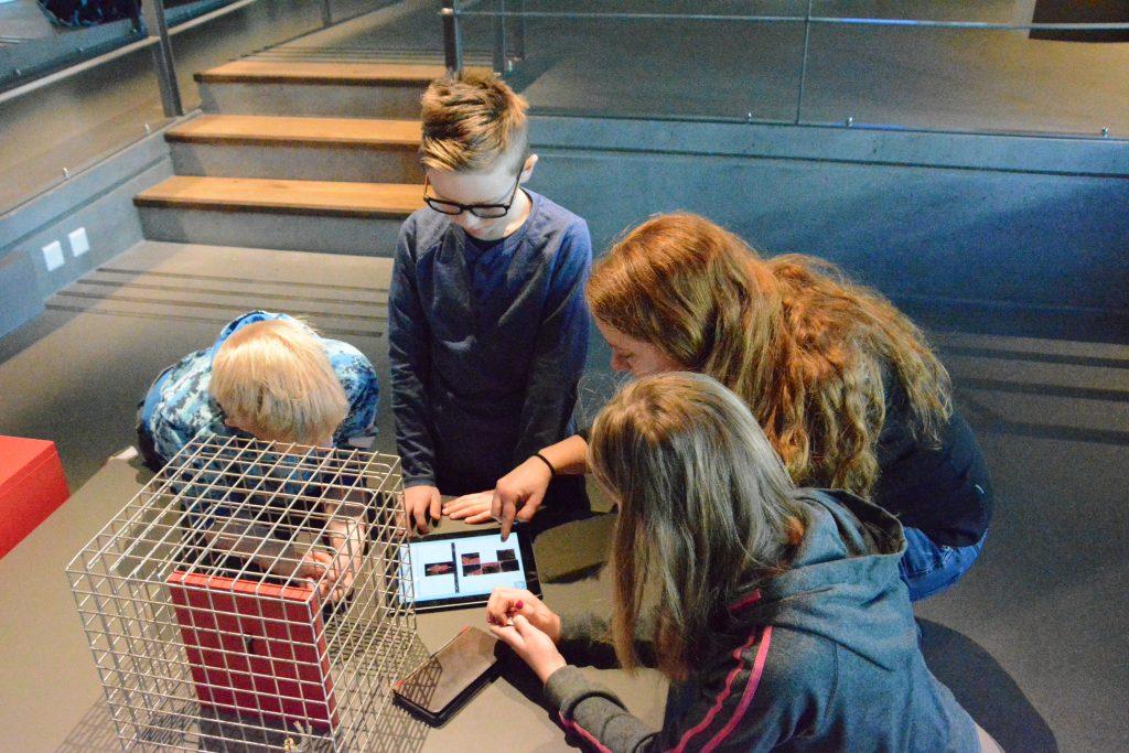 Hvordan kan vi bruke nye digitale verktøy for å skape bedre museumsopplevelser? Foto: Christine Haugsten Ellefsen