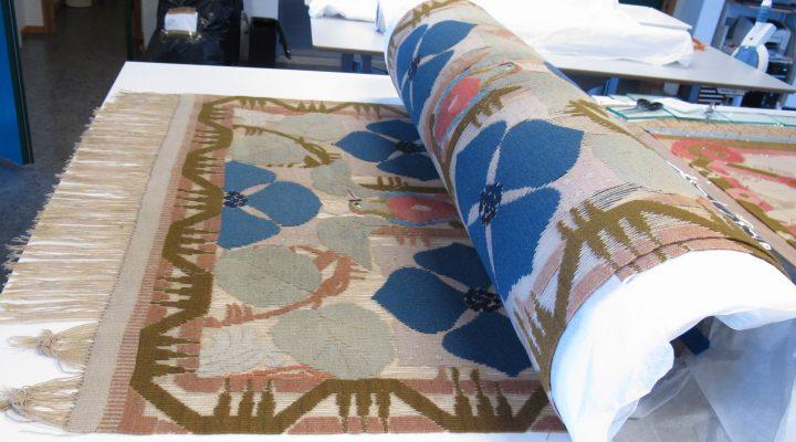 Tekstilhåndteringskurs hos Bevaringstenestene i Hordaland