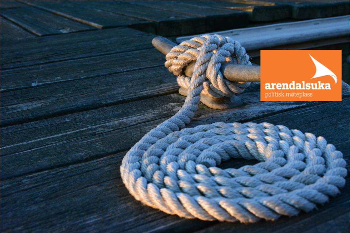 Møt oss i Arendal 13.-18. august!