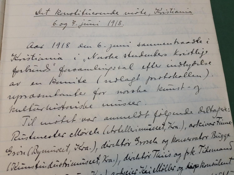 Norges museumsforbund feirer 100 år i museenes tjeneste!