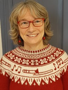 Heidi Froknestad, landskapsarkitekt hos Mjøsmuseet. Foto: Jorid Almås.