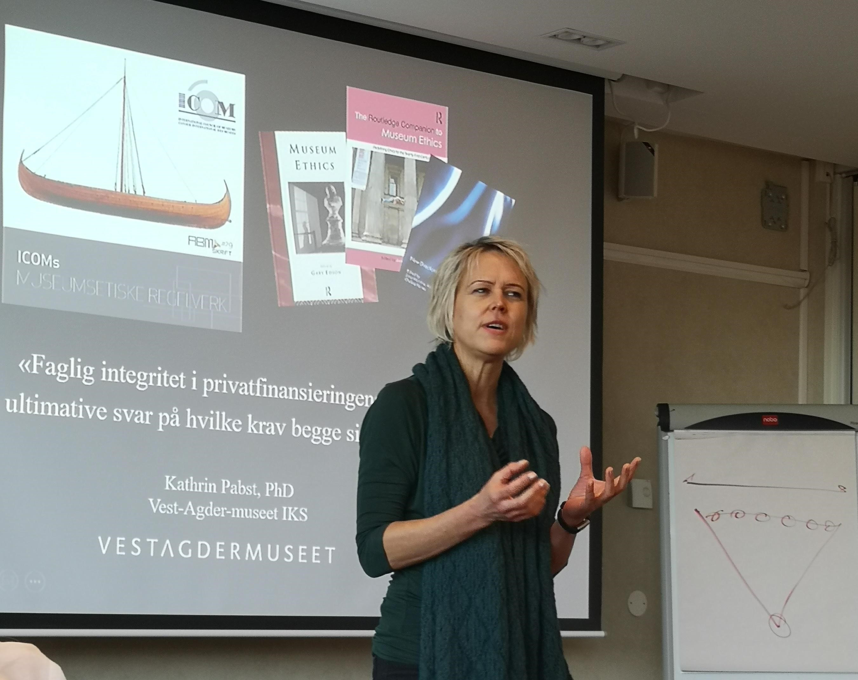 Lærerikt seminar om kommersialisering i museene