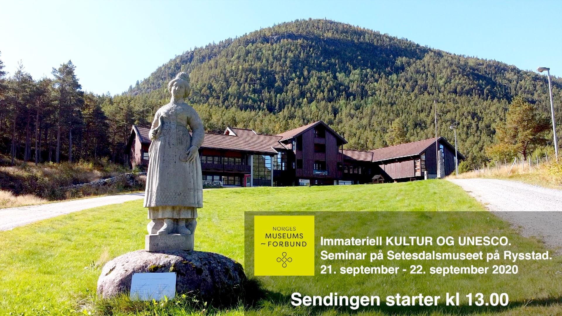 DIREKTESENDING: Immateriell KULTUR og UNESCO fra Setesdal