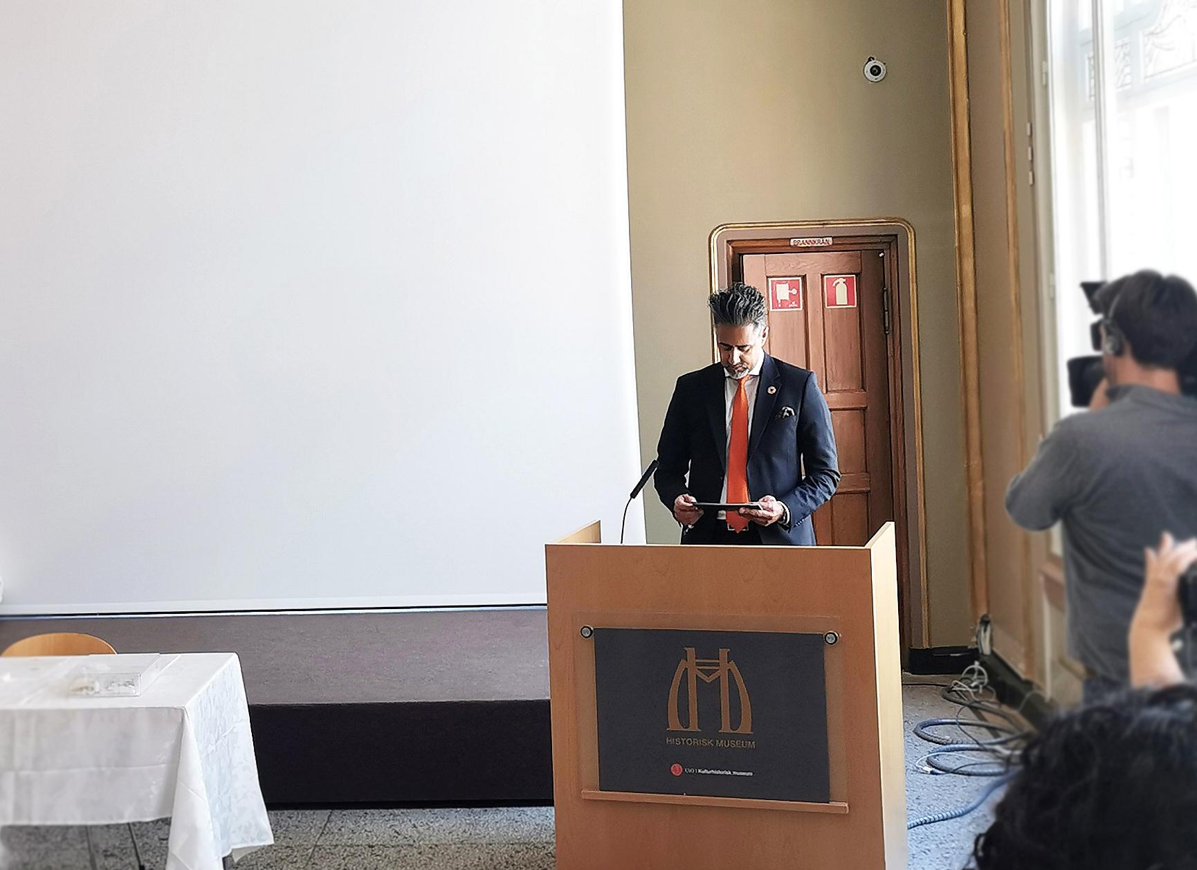 Kulturhistorisk museum og Kulturdepartementet tilbakeførte ulovlig importerte kulturminner